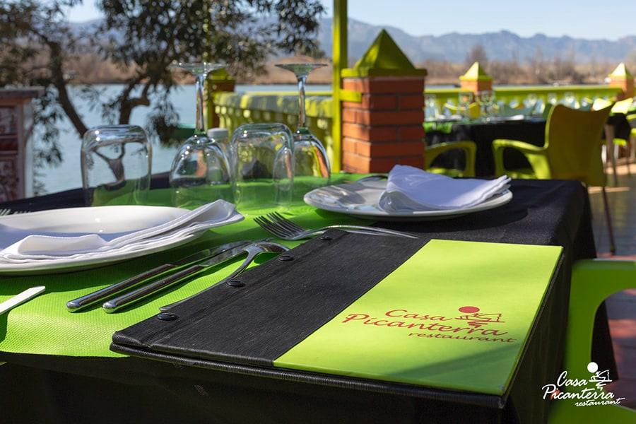 Terraza Restaurante Casa Picanterra