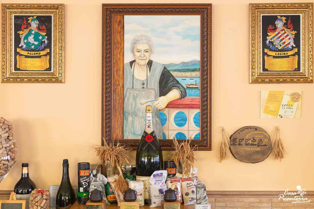 Familias Palomo - Codina - Restaurante Casa Picanterra