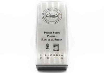 1er Premi Postres Kaki de la Ribera